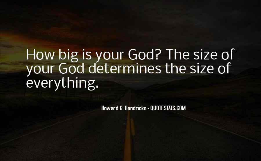 Quotes About Big Size #935140