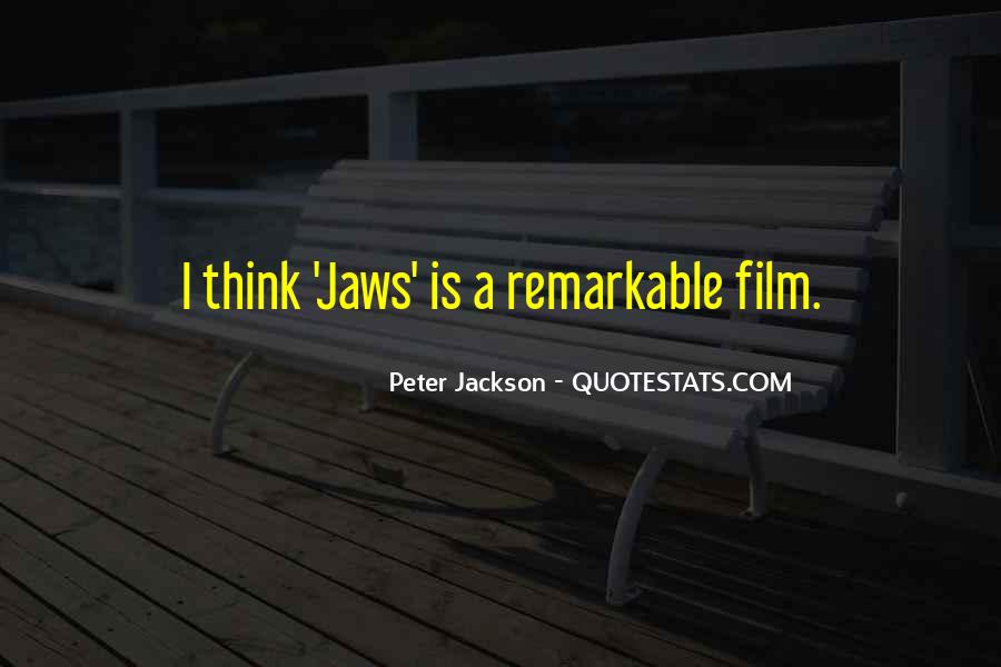 Quotes About Jaws #458585