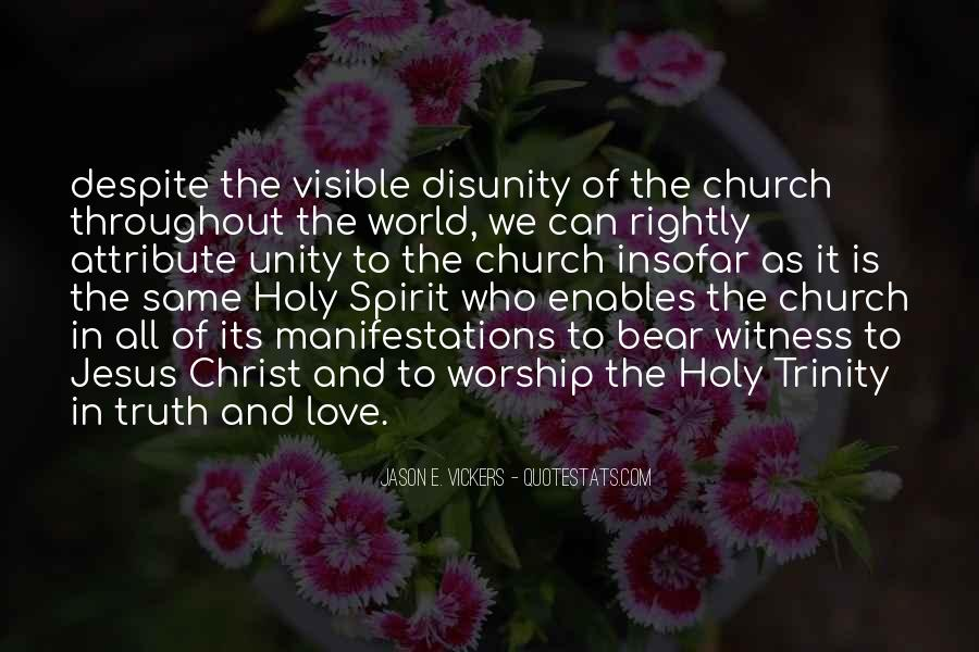 Quotes About The Most Holy Trinity #483374