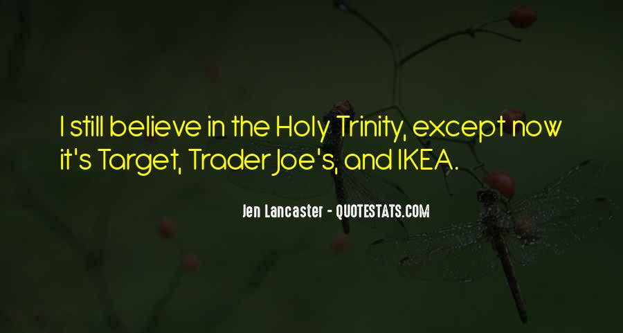 Quotes About The Most Holy Trinity #764723