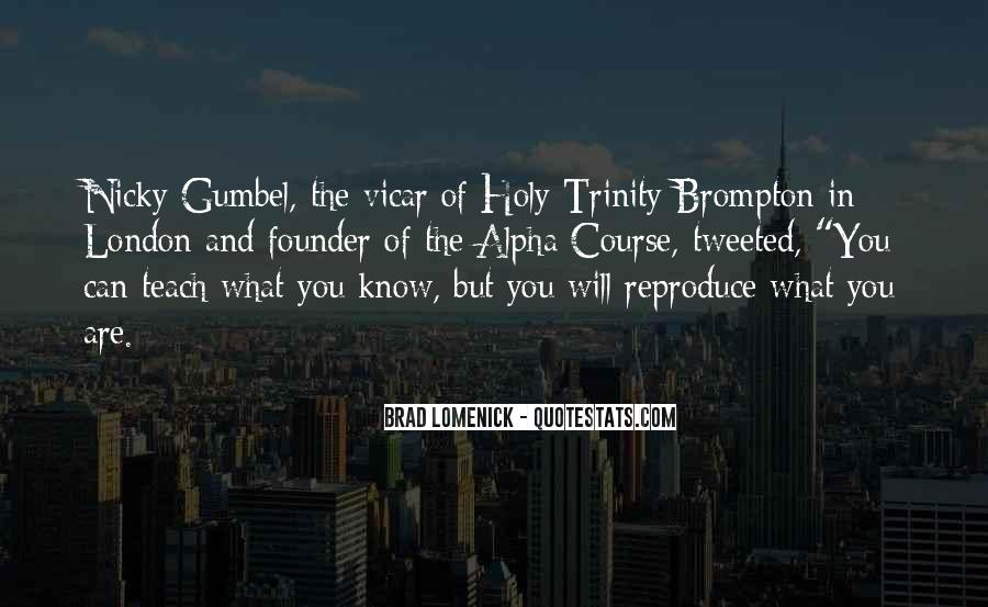 Quotes About The Most Holy Trinity #836620