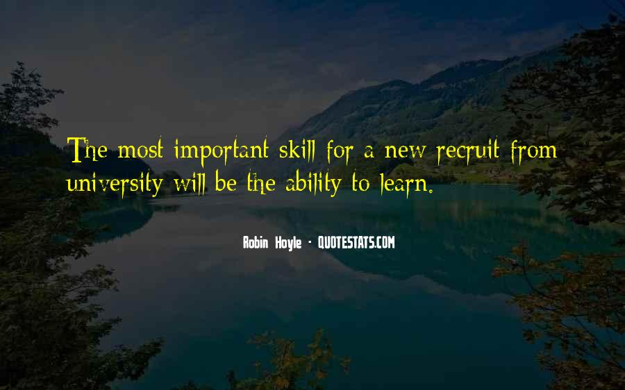 Quotes About Skill Development #1039081