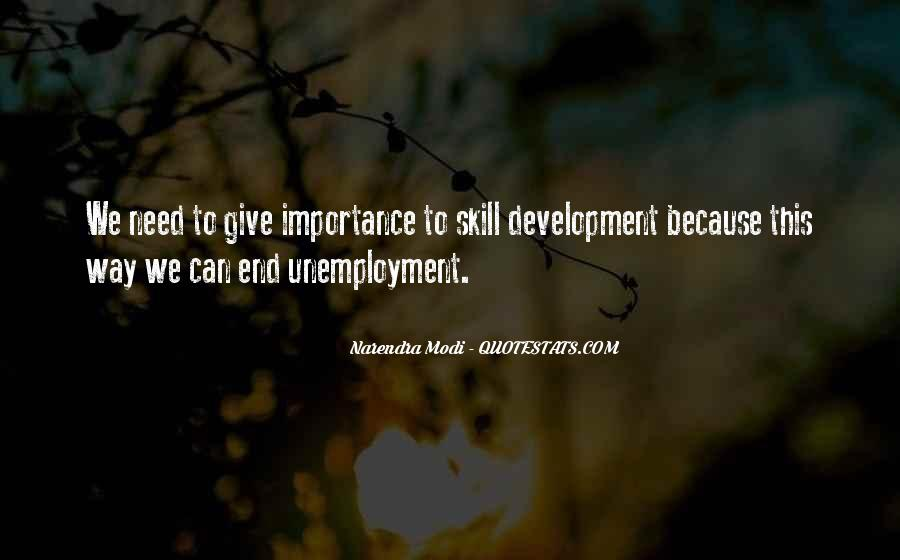 Quotes About Skill Development #1483378