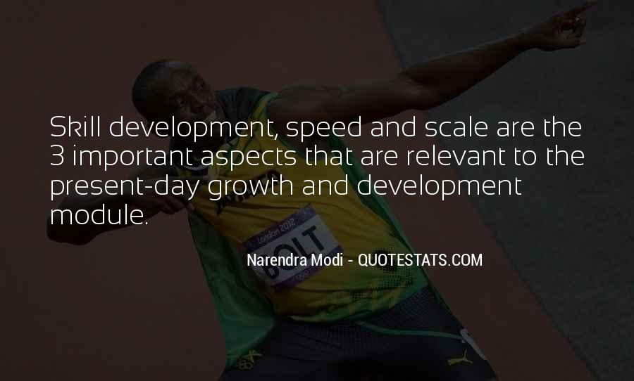 Quotes About Skill Development #1599736