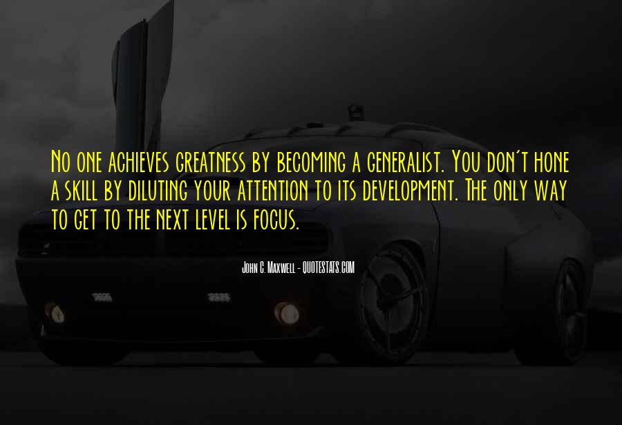 Quotes About Skill Development #1709721