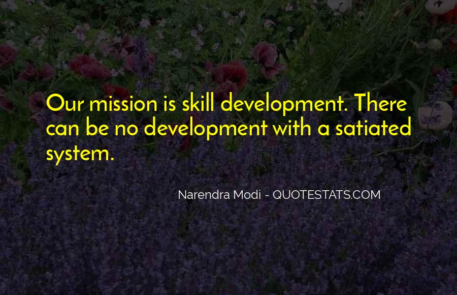 Quotes About Skill Development #588377