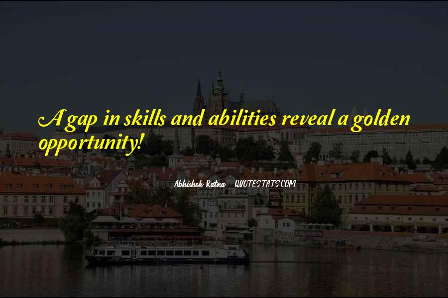 Quotes About Skill Development #871291