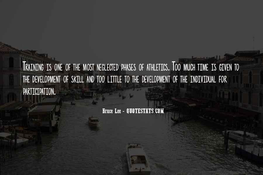 Quotes About Skill Development #904660