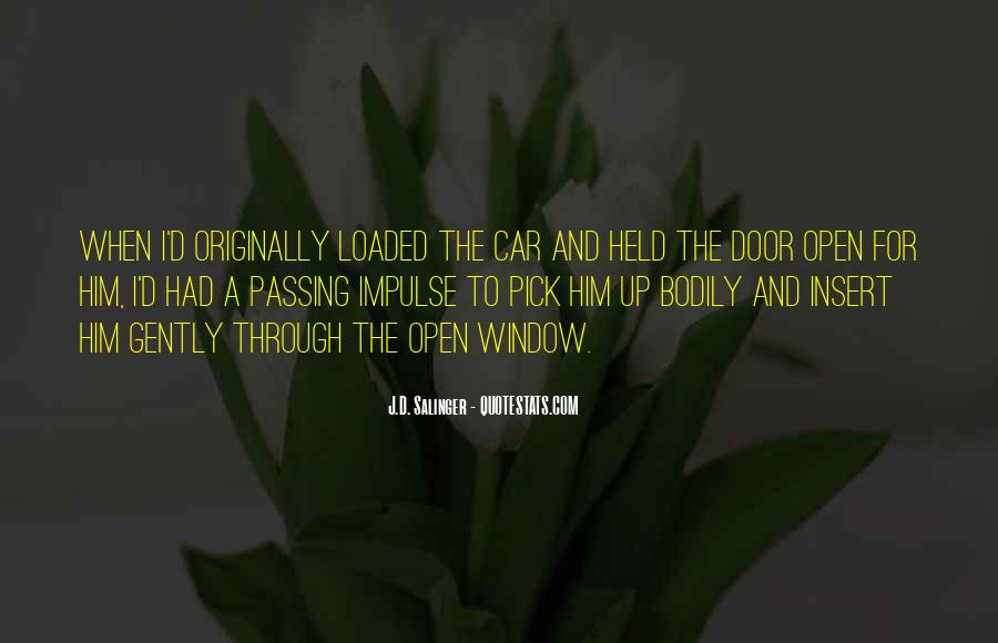 Quotes About Passing Through #109659