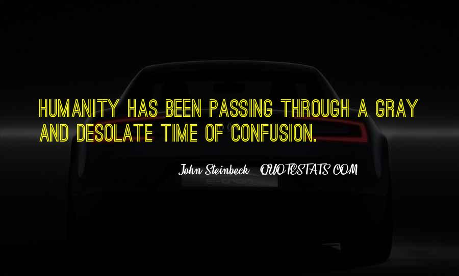 Quotes About Passing Through #116421