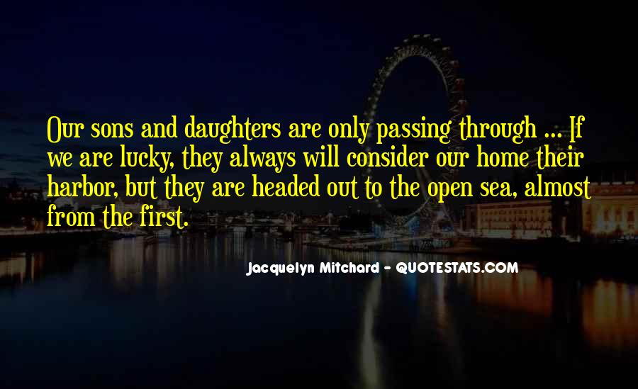 Quotes About Passing Through #231777