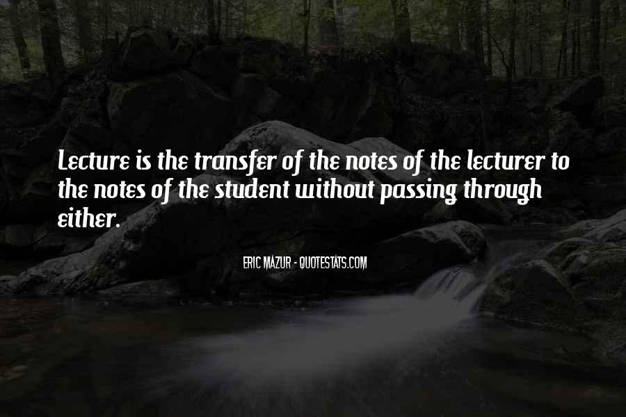 Quotes About Passing Through #358640