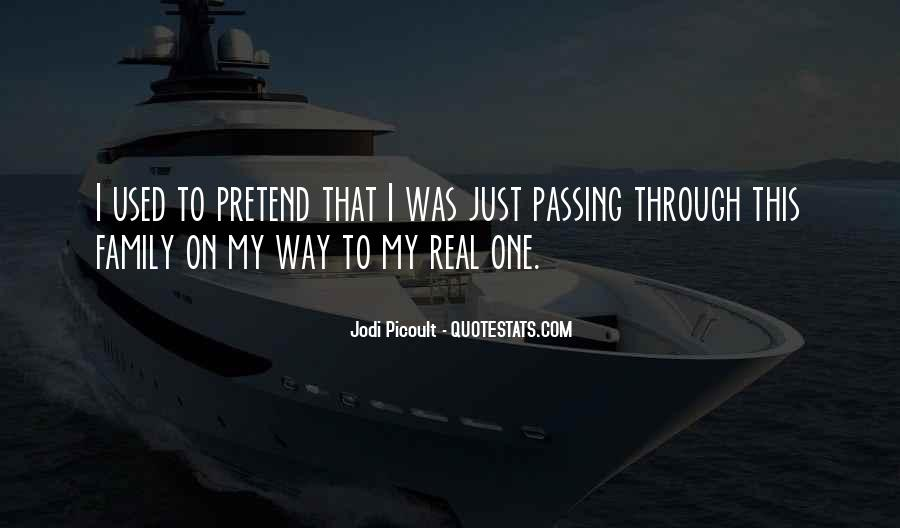 Quotes About Passing Through #518932