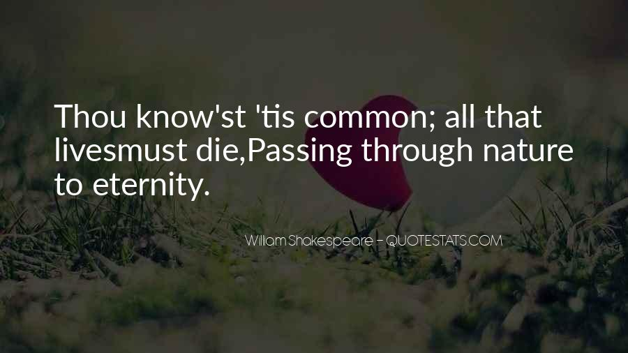 Quotes About Passing Through #83762