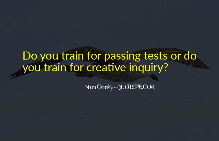 Quotes About Passing Tests #114214