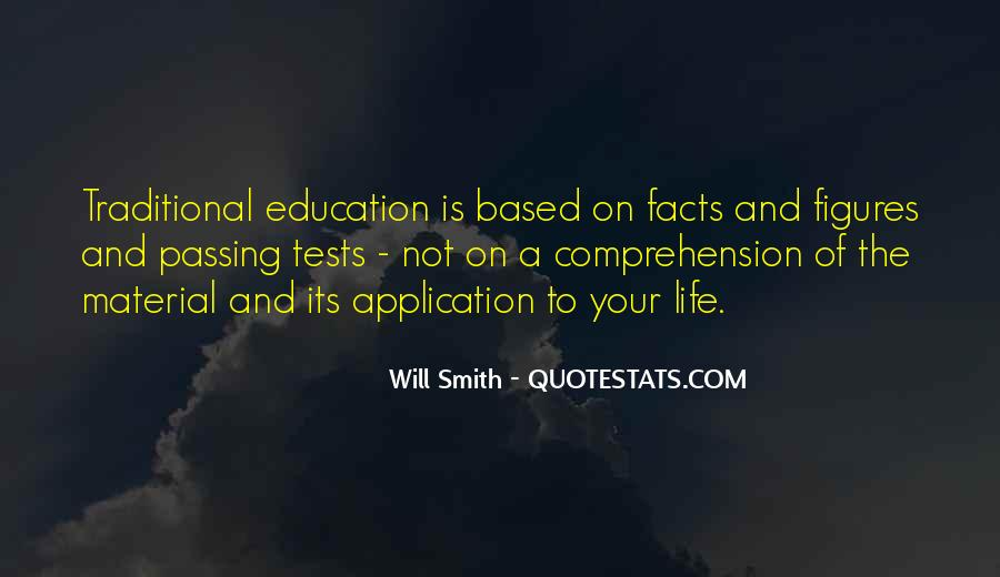 Quotes About Passing Tests #462254