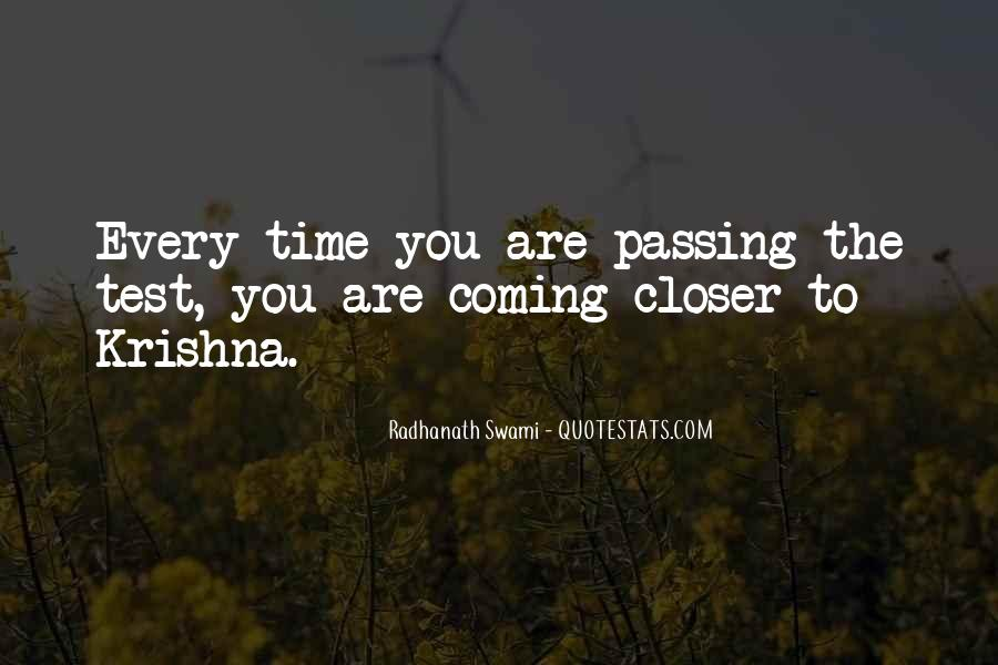 Quotes About Passing Tests #578423