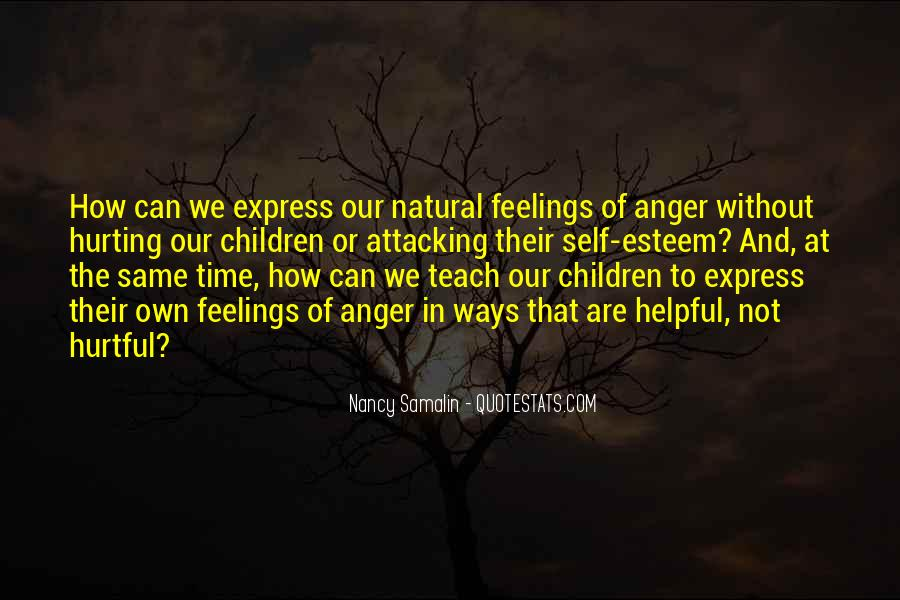Quotes About Hurting Children's Feelings #813948