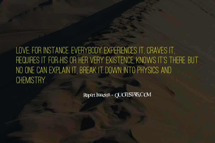 Quotes About Physics And Love #1110917