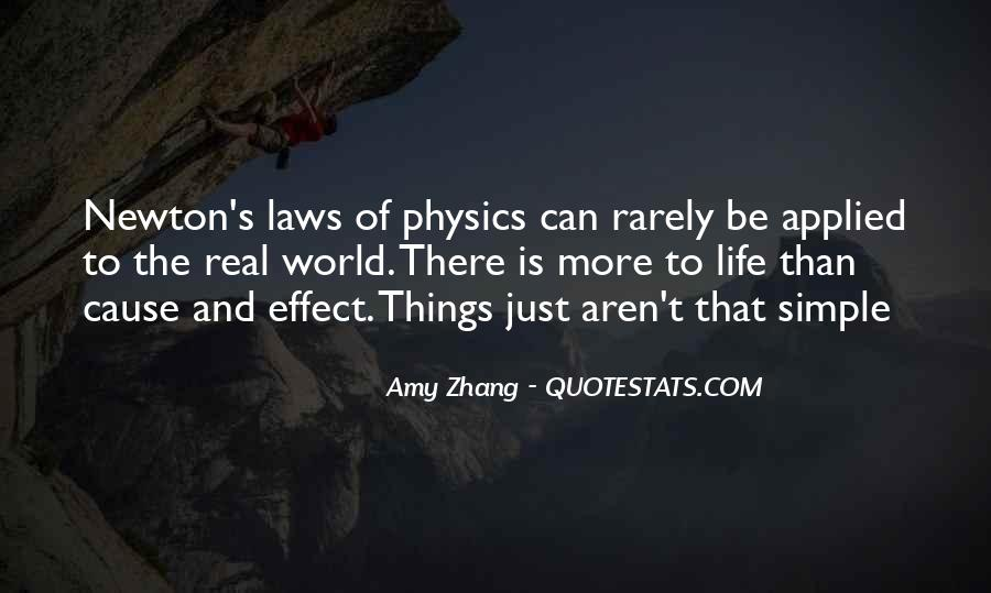 Quotes About Physics And Love #1256622