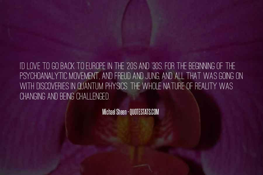 Quotes About Physics And Love #1360408