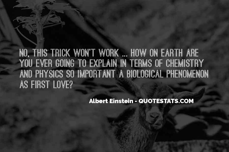 Quotes About Physics And Love #1596140