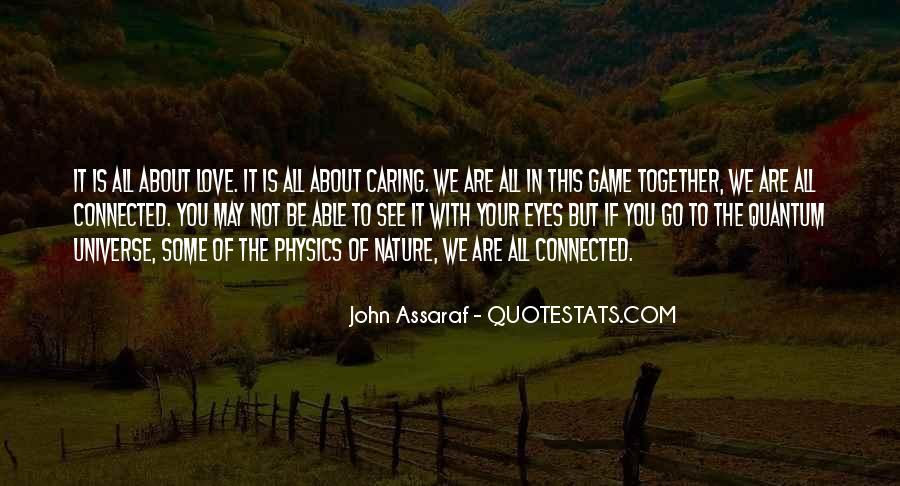 Quotes About Physics And Love #443380
