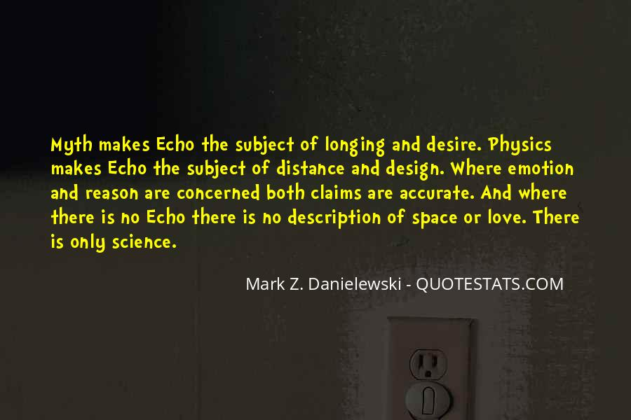 Quotes About Physics And Love #611897
