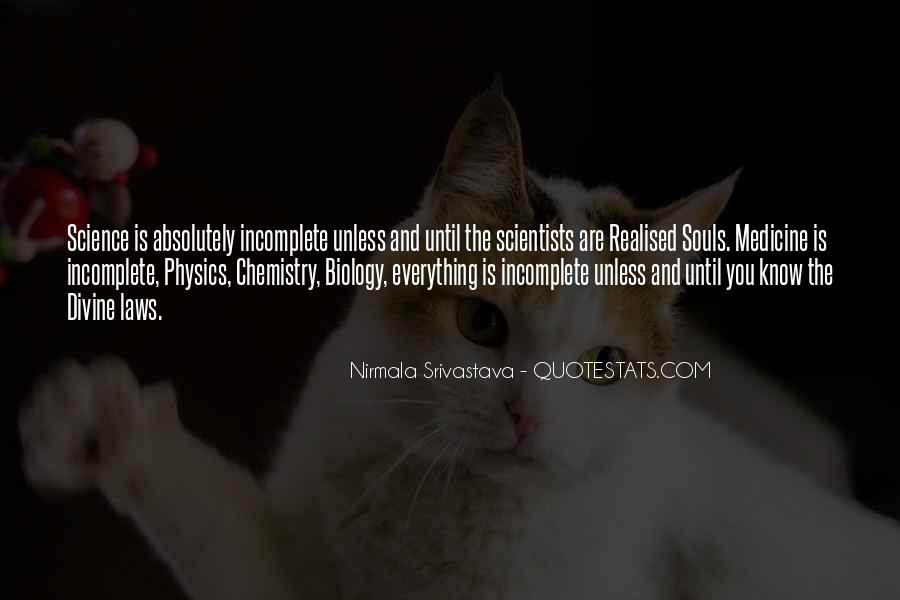 Quotes About Physics And Love #679794