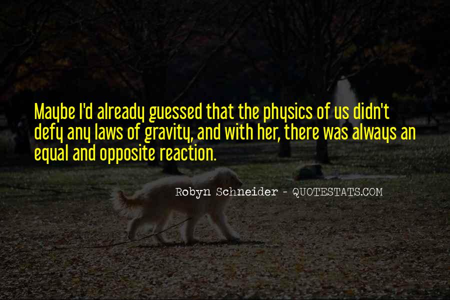 Quotes About Physics And Love #943939