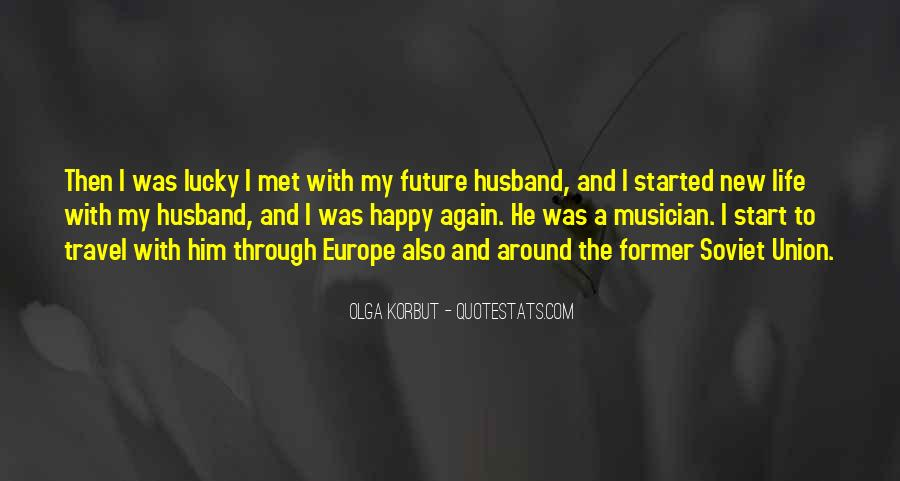 Quotes About Lucky Husband #1412022
