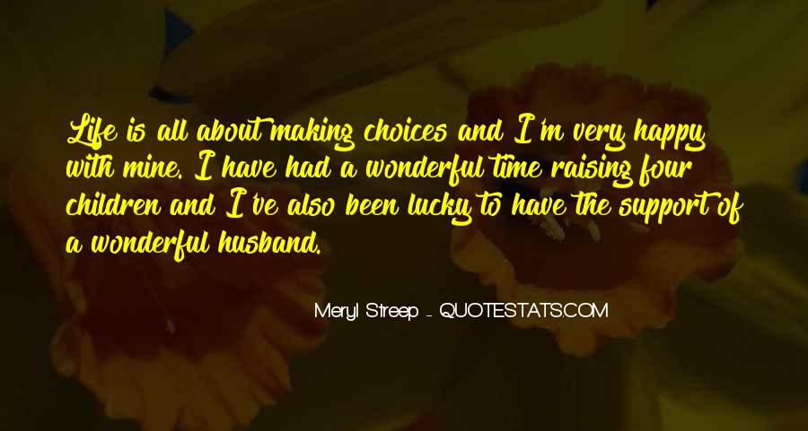 Quotes About Lucky Husband #1432852