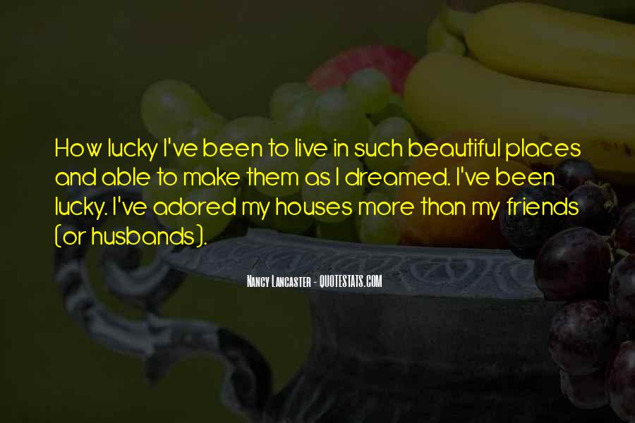 Quotes About Lucky Husband #1602552