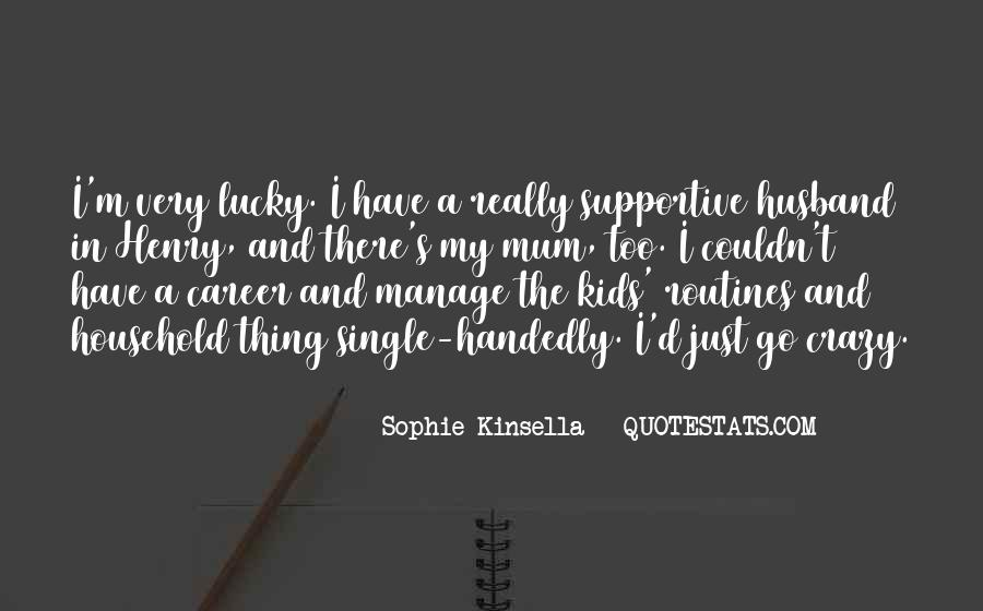 Quotes About Lucky Husband #1611981