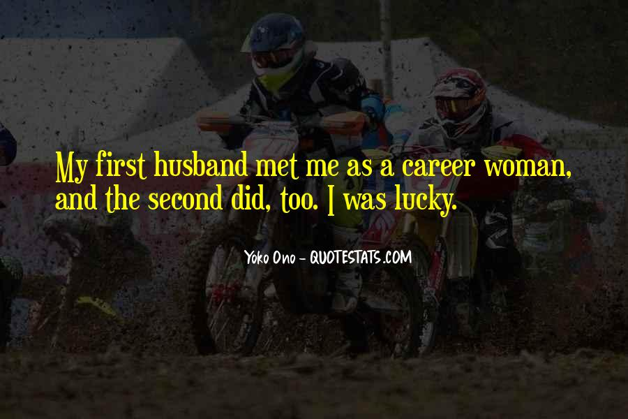 Quotes About Lucky Husband #165246