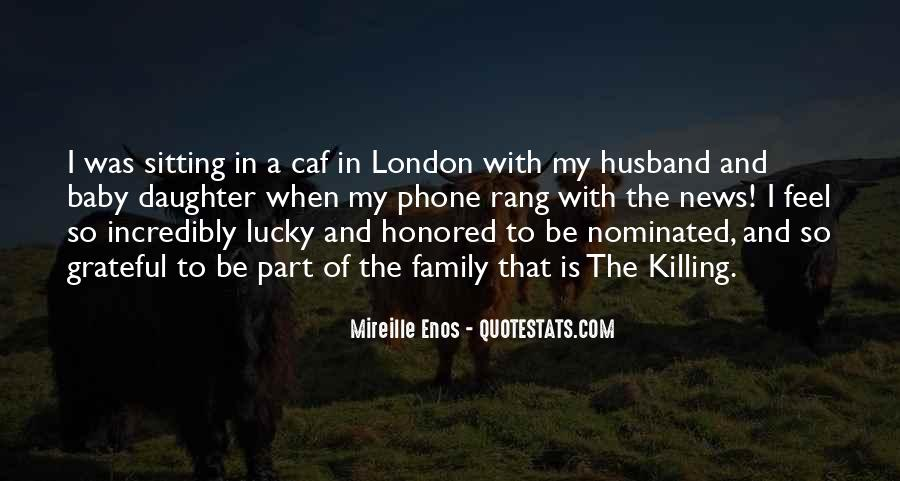 Quotes About Lucky Husband #87983