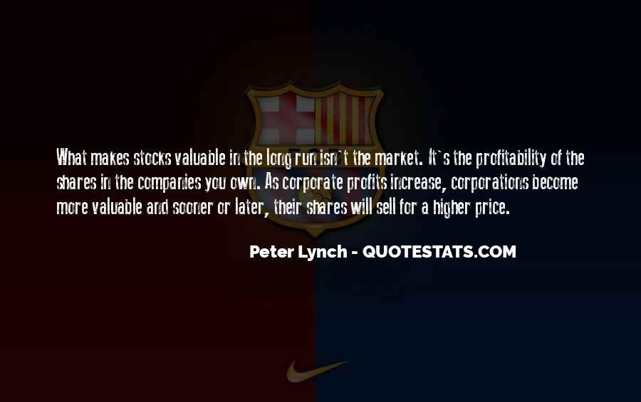 Quotes About Price Increase #1415266