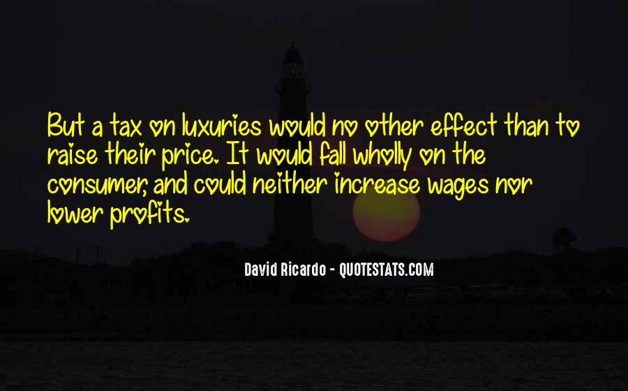 Quotes About Price Increase #1454305