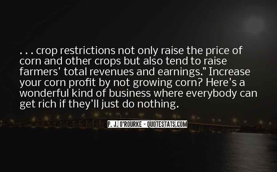 Quotes About Price Increase #520342