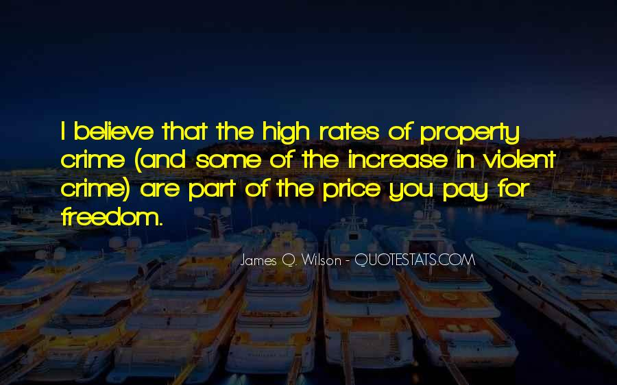 Quotes About Price Increase #621167