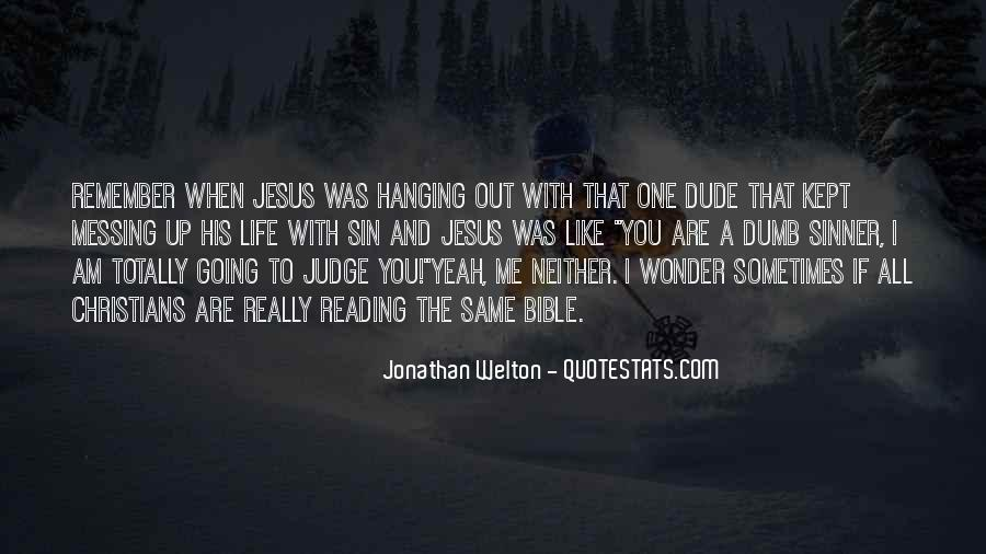Quotes About Jonathan In The Bible #167899