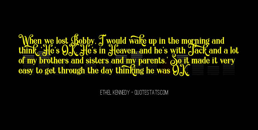 Quotes About Parents In Heaven #1017648