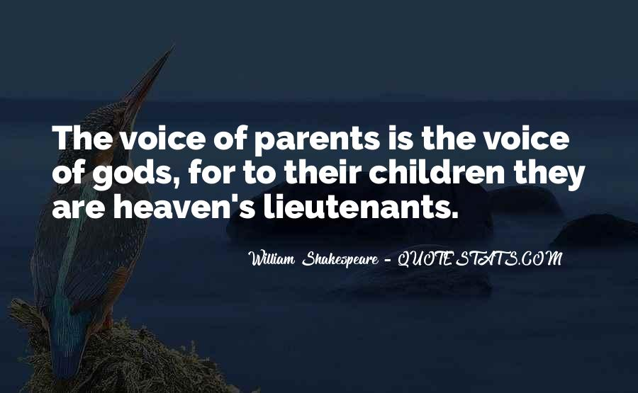 Quotes About Parents In Heaven #1184139