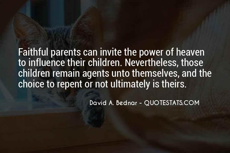 Quotes About Parents In Heaven #31175