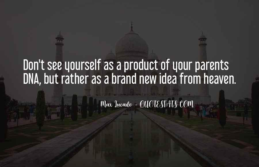Quotes About Parents In Heaven #782979