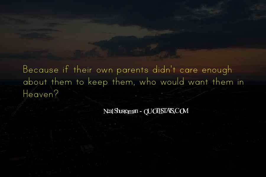 Quotes About Parents In Heaven #925296