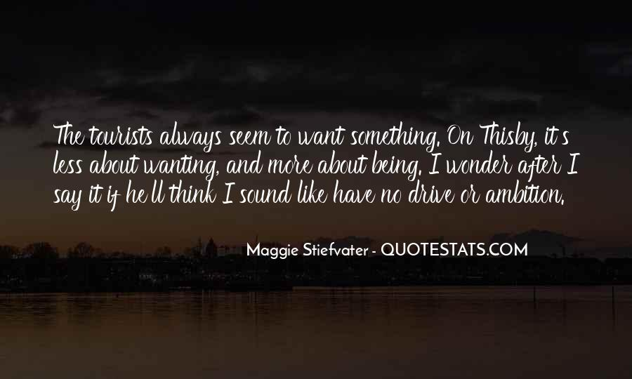 Quotes About Always Wanting More #108418