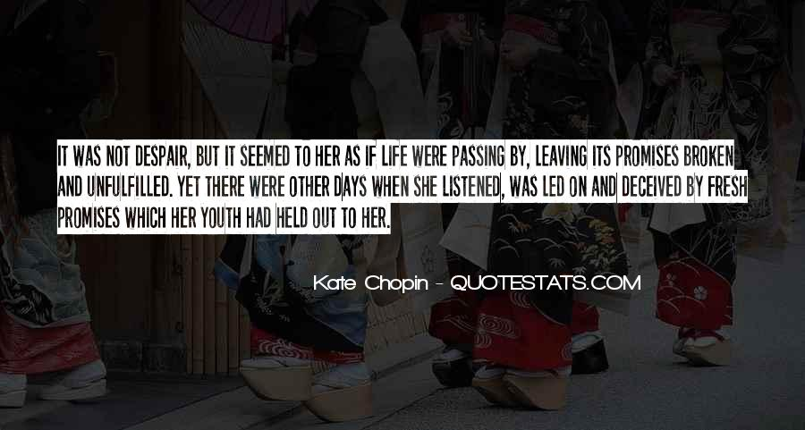 Quotes About Passing It On #1401482