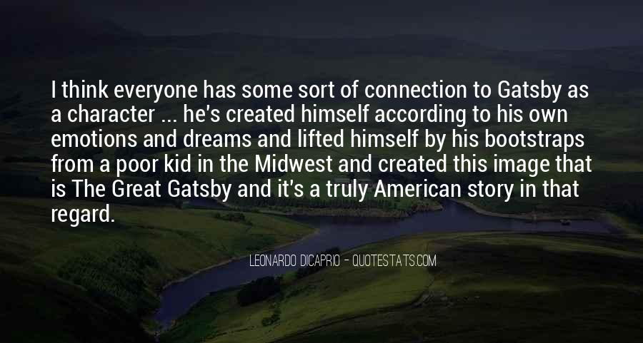 Quotes About The American Dream In Great Gatsby #1525994