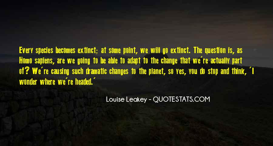 Quotes About Causing Change #1645255